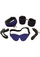 Whip Smart Discover Bondage Kit Passion Blue