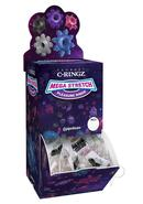 Mega Stretch Silicone Pleasure Rings Assorted Colors 72 Per...