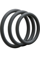 Optimale 3 Silicone C-ring Set Thin Slate