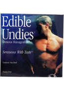 Sensuous With Taste Edible Undies Male Passion Fruit