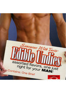 Sensuous With Taste Edible Undies Male Forbidden Fruit