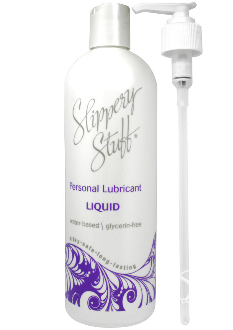 Slippery Stuff Liquid Water Based Lubricant 16 Ounce