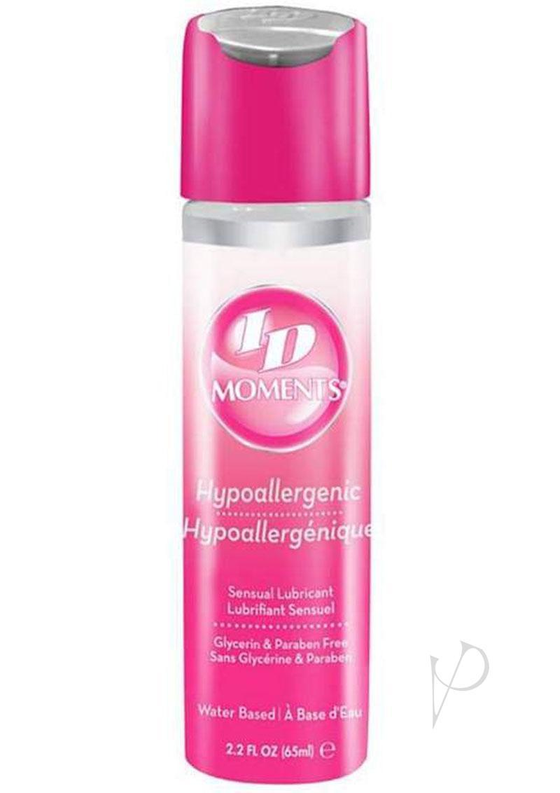 Id Moments Hypoallergenic Water Based Lubricant 2.7 Ounce