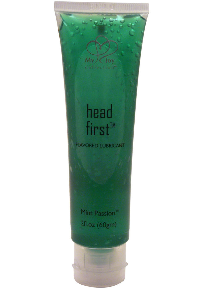 Head First Flavored Lubricant Mint Passion 2 Ounce