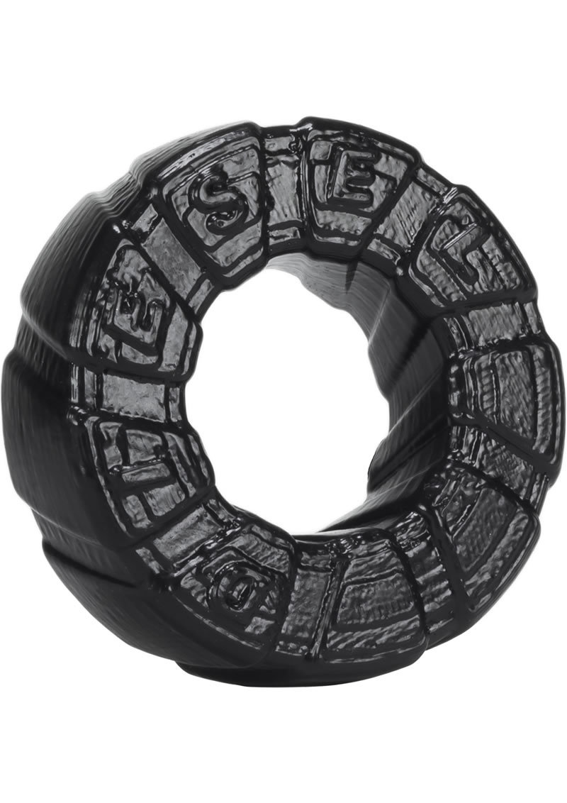 Oxballs Diesel Silicone Cockring Black