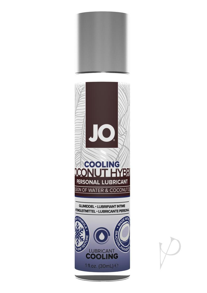 Jo Silicone Free Hybrid Personal Original Lubricant Water And Coconut Oil 1 Ounce