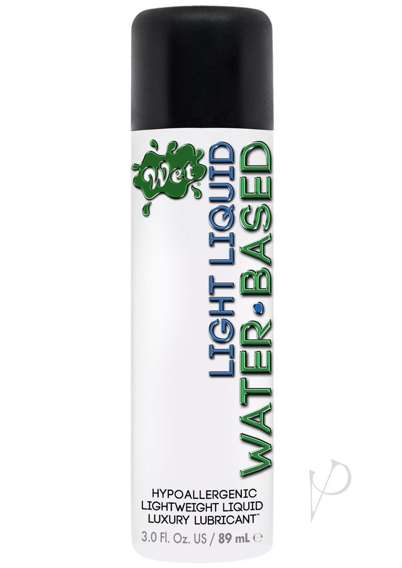 Wet Light Water Based Lubricant 3.5 Ounce